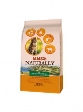 Iams Naturally Cat Adult All Breeds Agnello