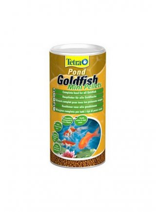 TETRAPOND GOLDFISH Mini Pellets 1 lt