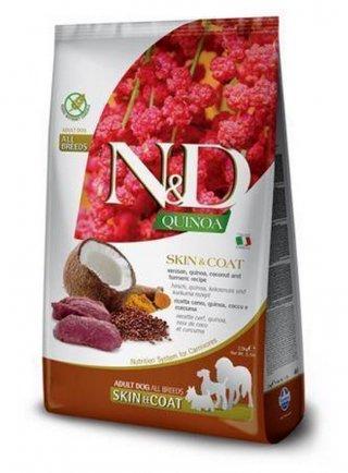 "N&D Quinoa Canine  ""Skin & Coat"" Venison Adult, all breeds kg.2,5"