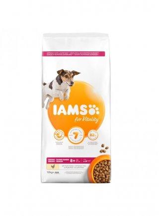 Iams Dog Base Senior Small & Medium Breeds Pollo