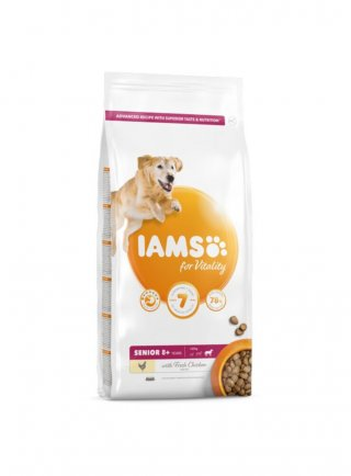 Iams Dog Base Senior Large Breeds Pollo