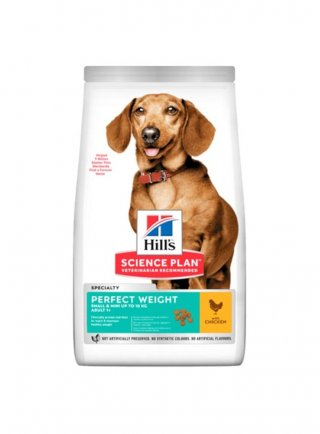 Hill's Science Plan cane adult mini Perfect Weight 1,5kg scadenza 11/21