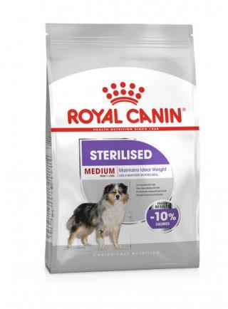Medium sterilised cane Royal canin