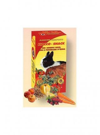 All-pet Fiocco Snack alimento completo per conigli nani e cavie gr 1000