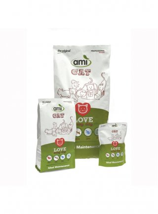 Cibo per gatti AMI CAT 100% Vegetale kg 7,5