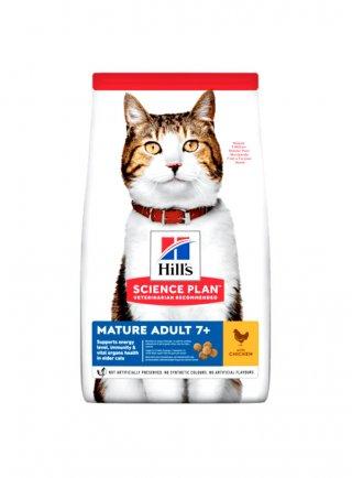 Hill's feline mature 7+ senior con pollo