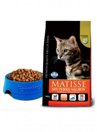 Farmina Matisse Neutered gatto sterilizzato salmone 10Kg