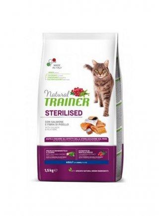 Trainer Natural Cat Adult Sterilised Salmone