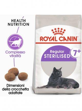 Regular Sterilised 7+ gatto Royal Canin