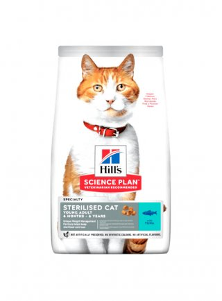 hill's feline Sterilised cat young adult tonno