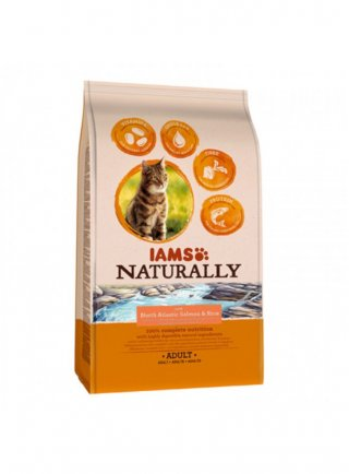 Iams Naturally Cat Adult All Breeds Salmon