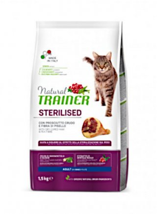 Trainer Natural Cat Adult Sterilised con Carne