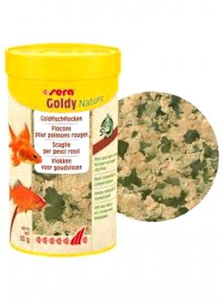 Sera Goldy nature mangime in scaglie per pesci rossi