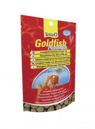 Tetra mangime pesci rossi Goldfish Fun Balls 22 g