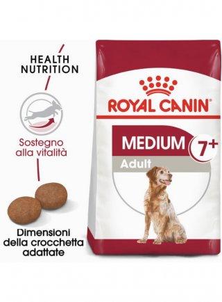 Medium Adult 7+ cane Royal Canin