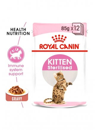 Sterilised Kitten salsa umido Royal Canin 12x85 gr