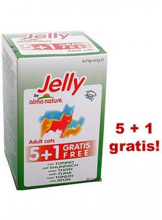 Almo nature Jelly tonno 5+1 gratis
