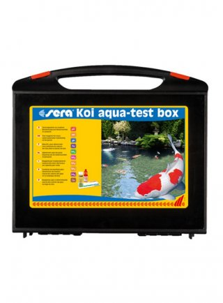 Sera aqua test box koi laghetto