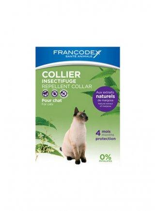 Collare antiparassitario per gatti gattini naturale neem