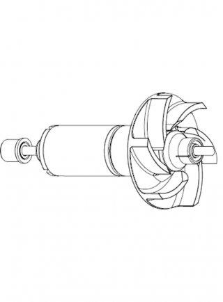 Sicce ricambio Pompa Aqua 3 6000 Rotore + alberino in ceramica + gommini