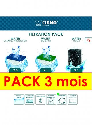 Askoll Kit filtri risparmio per acquario Ciano