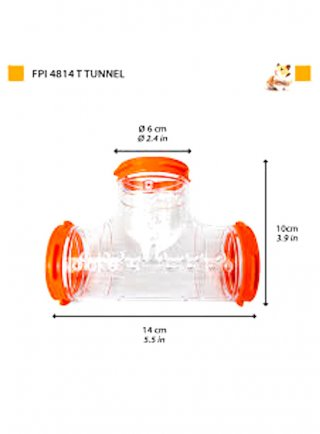 FPI 4814 TUBE LINE T TUNNEL
