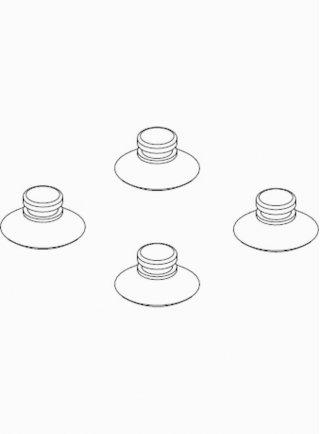 Sicce Ricambio MICRA-MICRAPLUS-NOVA Ventose (20 pezzi)
