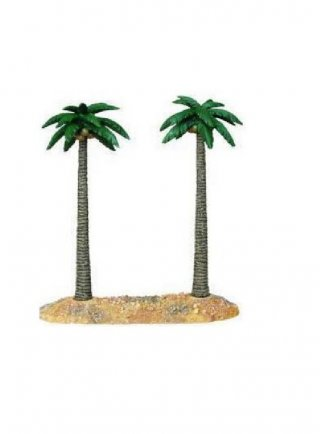 Haquoss Decorazione palm double L 31x12x30h