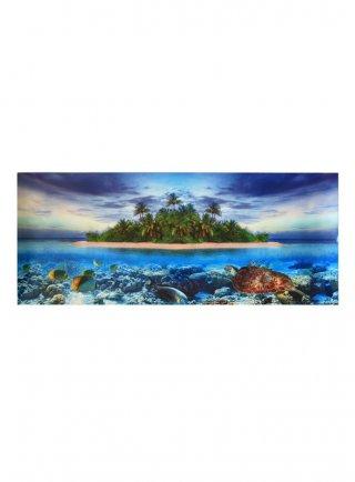 Sfondo decorativo tartarughiera 75x31,5 cm bifacciale