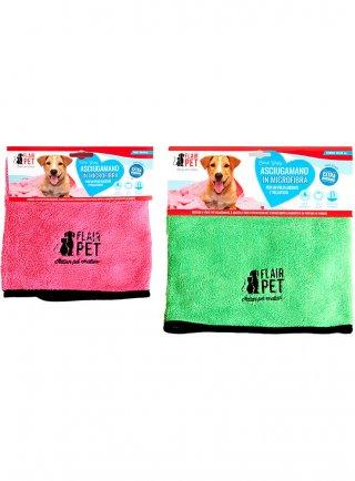 Flair pet Asciugamano in microfibra per cani