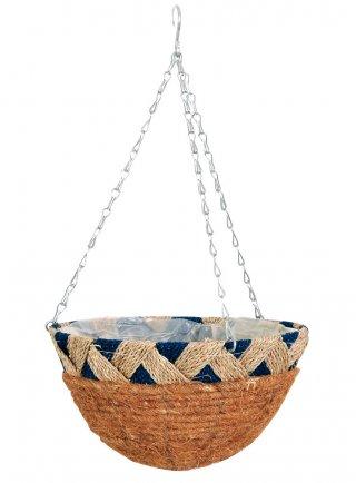 Basket Cesti da appendere Portafiori e portapiante in fibre naturali