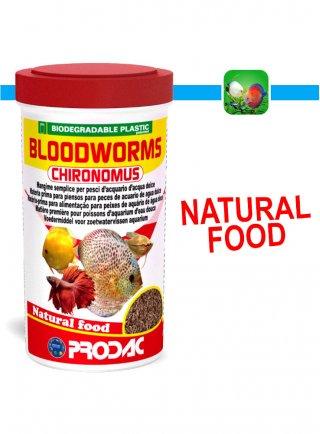 Prodac Bloodwroms Chyronomus Mangime per Pesci
