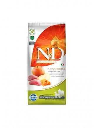 ND Dog zucca medium maxi cinghiale mela 12 Kg