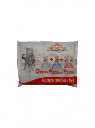 Royal canin gatto instinctive multipack 3+1 Buste da 85gr