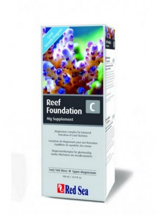 Red sea Reef foundation C composto di magnesio 500 ml