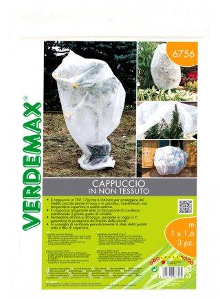 Cappuccio in TNT protezione dal freddo per piante da giardino