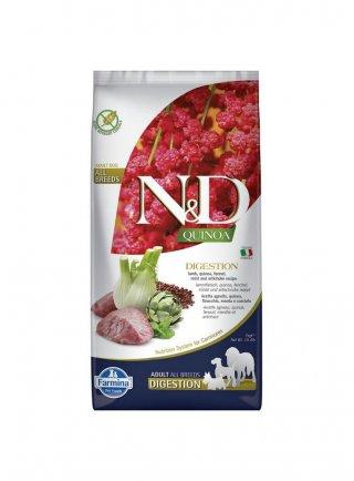 Farmina N&D Quinoa Adult Digestion Agnello e Finocchio