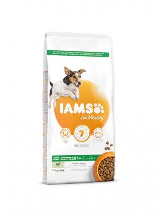 Iams Dog Base Adult Small & Medium Breeds Agnello