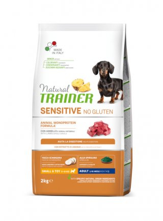 Trainer Sensitive No Gluten adult small&toy 7Kg