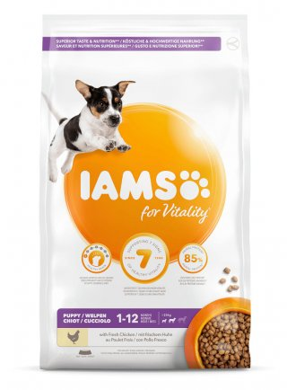 Iams Dog Base Puppy Small & Medium Breeds Chicken