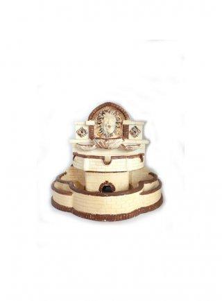 Fontana decorazione per rettili con pompa ART 605 (30x24x27h cm)