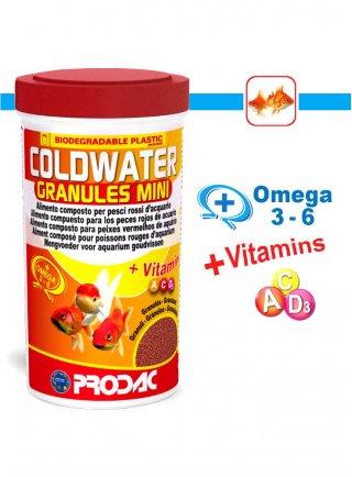 Prodac Coldwater Granules Mini Mangime per Pesci Rossi Taglia Piccola