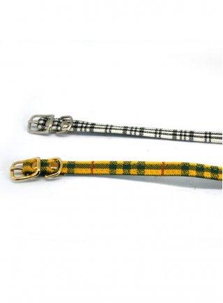 Collare per cani fantasia scozzese 35x1 cm Degano