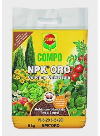 COMPO Concimi  granulari OUTDOOR NPK+ Oro 10 kg