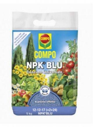 Compo Concime Granulare Nitrophoska Blu 12+12+17