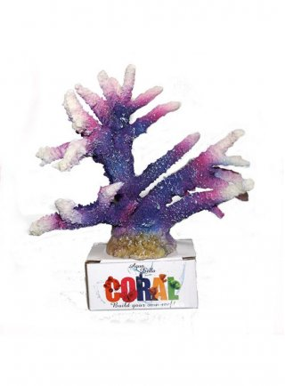 Decorazione per acquari Coral Taghorn Viola