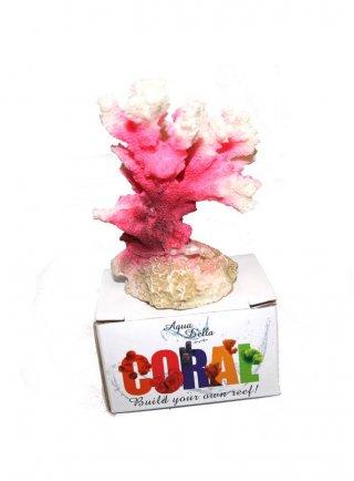 Decorazione per acquari Coral Cauliflora rosa
