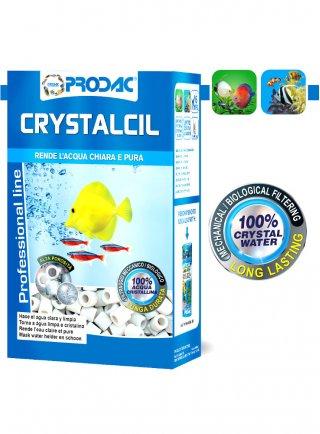 Prodac Crystalcil/Crystacil Mini Cilindretti filtraggio meccanico biologico acquario