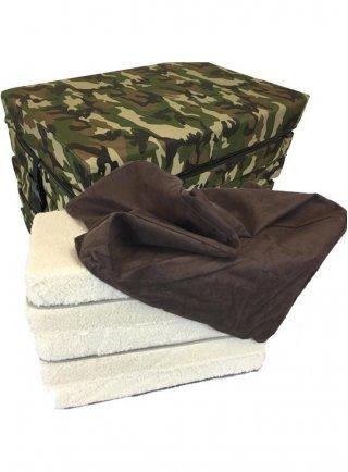 Cuccia cuscino sali divano multiuso per cani e padroni