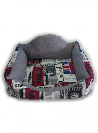 Cuccia morbida per cani London Sofa underground